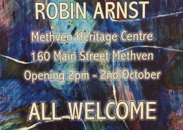 Robin Arnst - Yesterday & Today - Methven Art Gallery Exhibition