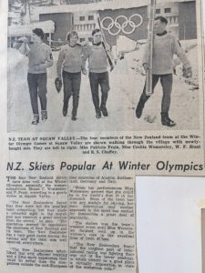 Newspaper Clipping - New Zealand Ski Heritage Museum - Methven Heritage Centre