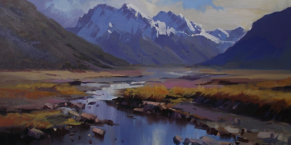 Charles Pickworth Exhibition - Methven Art Gallery