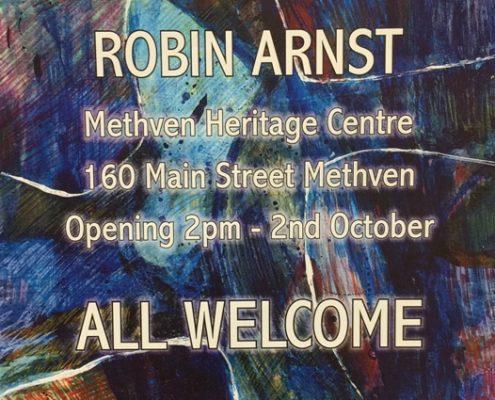 Robin Arnst - Yesterday & Today - Methven Art Gallery Exhibition